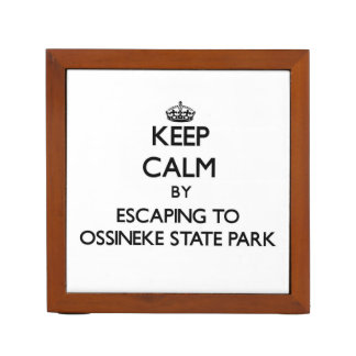 Keep calm by escaping to Ossineke State Park Michi Desk Organizers