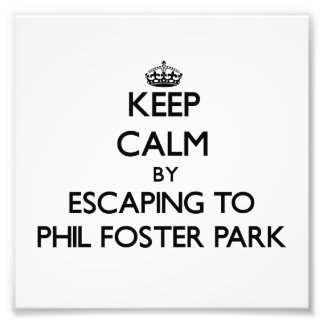 Keep calm by escaping to Phil Foster Park Florida Photo Art