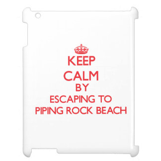 Keep calm by escaping to Piping Rock Beach New Yor Case For The iPad
