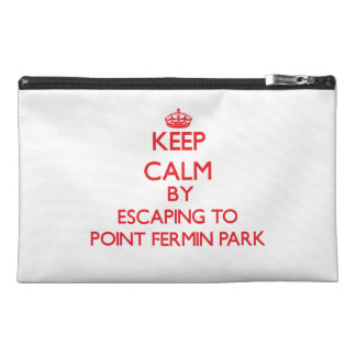 Keep calm by escaping to Point Fermin Park Califor Travel Accessory Bag