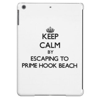 Keep calm by escaping to Prime Hook Beach Delaware iPad Air Cases
