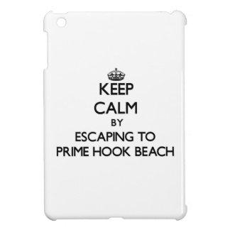 Keep calm by escaping to Prime Hook Beach Delaware iPad Mini Case