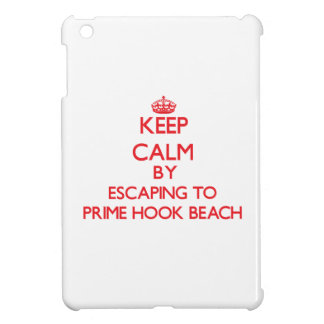 Keep calm by escaping to Prime Hook Beach Delaware iPad Mini Cases