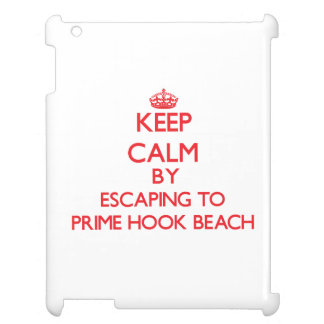 Keep calm by escaping to Prime Hook Beach Delaware iPad Covers