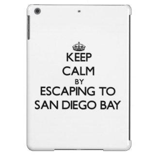 Keep calm by escaping to San Diego Bay California iPad Air Case