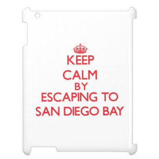 Keep calm by escaping to San Diego Bay California Cover For The iPad
