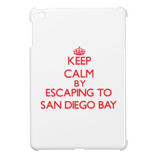Keep calm by escaping to San Diego Bay California iPad Mini Cases