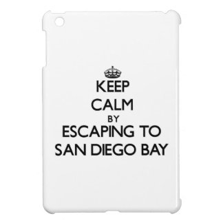 Keep calm by escaping to San Diego Bay California iPad Mini Covers