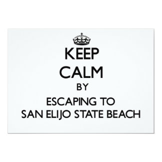 Keep calm by escaping to San Elijo State Beach Cal Invite