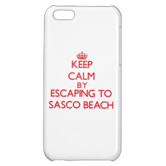 Keep calm by escaping to Sasco Beach Connecticut iPhone 5C Cases