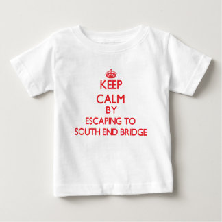 Keep calm by escaping to South End Bridge Florida Shirts