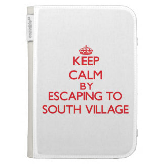 Keep calm by escaping to South Village Massachuset Kindle 3 Cover
