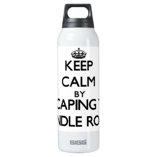 Keep calm by escaping to Spindle Rock Massachusett 16 Oz Insulated SIGG Thermos Water Bottle