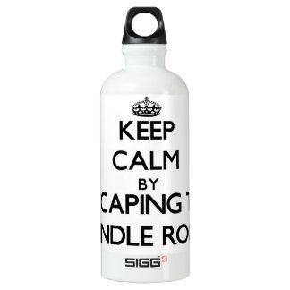 Keep calm by escaping to Spindle Rock Massachusett SIGG Traveler 0.6L Water Bottle