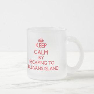 Keep calm by escaping to Sullivans Island South Ca Coffee Mug