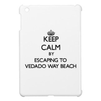Keep calm by escaping to Vedado Way Beach Florida iPad Mini Cases