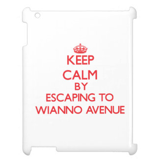 Keep calm by escaping to Wianno Avenue Massachuset Cover For The iPad