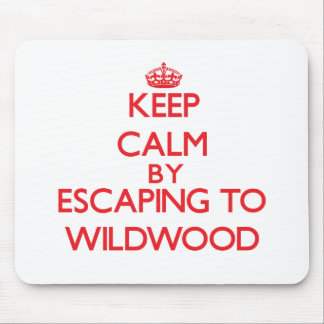 Keep calm by escaping to Wildwood New Jersey Mouse Pads