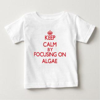 Keep Calm by focusing on Algae Infant T-shirt