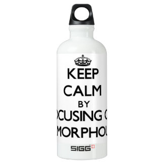 Keep Calm by focusing on Amorphous SIGG Traveler 0.6L Water Bottle