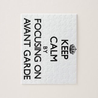 Keep Calm by focusing on Avant-Garde Jigsaw Puzzles