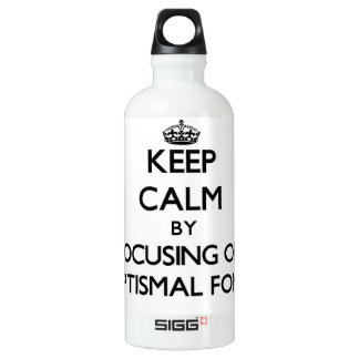 Keep Calm by focusing on Baptismal Fonts SIGG Traveler 0.6L Water Bottle