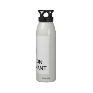 Keep Calm by focusing on Being Dominant Drinking Bottle