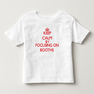 Keep Calm by focusing on Booths Tees