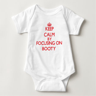 Keep Calm by focusing on Booty Baby Bodysuit