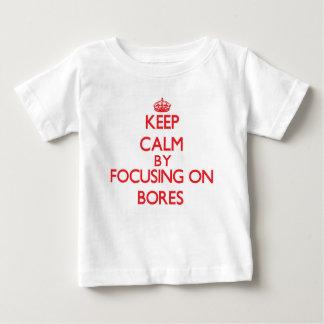Keep Calm by focusing on Bores Shirt