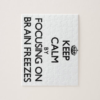 Keep Calm by focusing on Brain Freezes Puzzles