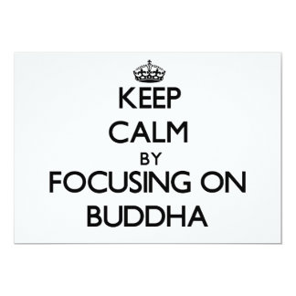 Keep Calm by focusing on Buddha Announcements