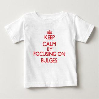 Keep Calm by focusing on Bulges Tshirt