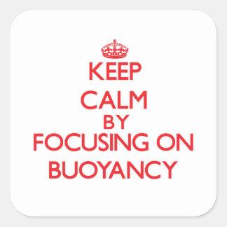 Keep Calm by focusing on Buoyancy Sticker
