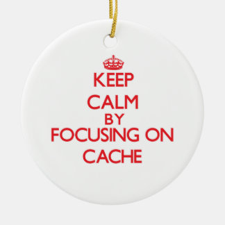 Keep Calm by focusing on Cache Christmas Tree Ornaments