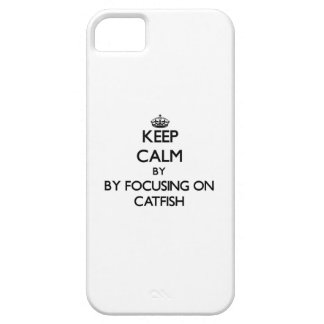 Keep calm by focusing on Catfish Case For iPhone 5/5S