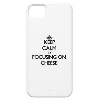Keep Calm by focusing on Cheese iPhone 5 Covers