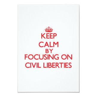 Keep Calm by focusing on Civil Liberties Invite