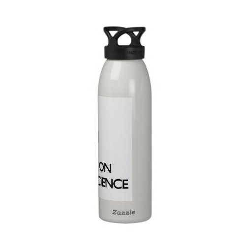 Keep calm by focusing on Cognitive Science Water Bottles