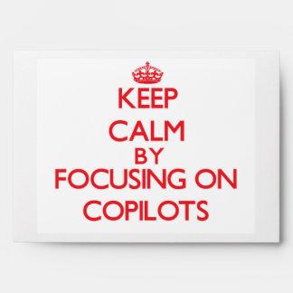 Keep Calm by focusing on Copilots Envelope
