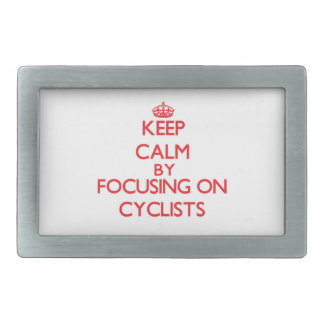 Keep Calm by focusing on Cyclists Belt Buckles