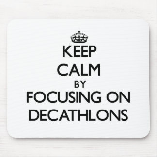 Keep Calm by focusing on Decathlons Mouse Pad