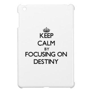 Keep Calm by focusing on Destiny iPad Mini Covers