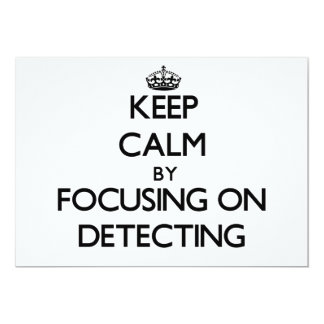 Keep Calm by focusing on Detecting Invites