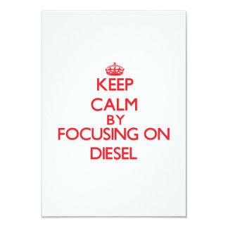 Keep Calm by focusing on Diesel Custom Announcement