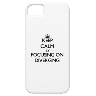 Keep Calm by focusing on Diverging iPhone 5 Case
