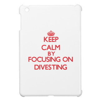 Keep Calm by focusing on Divesting Case For The iPad Mini
