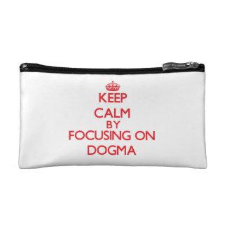 Keep Calm by focusing on Dogma Cosmetics Bags