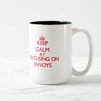 Keep Calm by focusing on ENVOYS Mugs