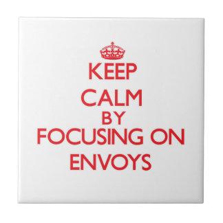 Keep Calm by focusing on ENVOYS Ceramic Tiles